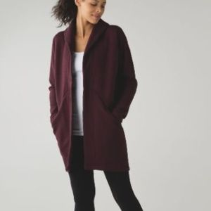 Lululemon &go Take You There Wrap sz 6 Wine